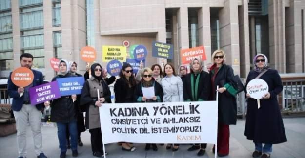 KADEM, Kılıçdaroğlu'ndan tüm kadınlar için özür bekliyor