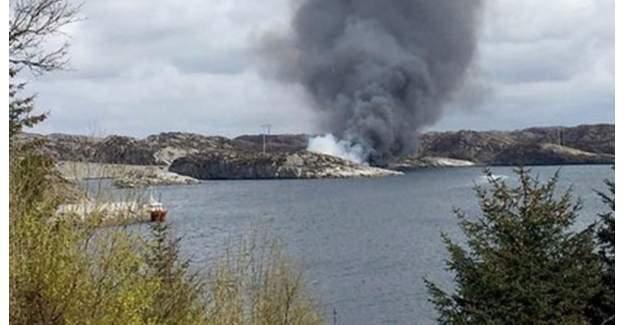 Norveç'te helikopter Kuzey Denizine düştü!