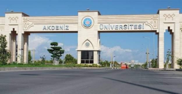 Akdeniz Üniversitesine yolsuzluk operasyonu