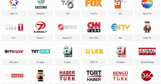 Canlı Televizyon izle - Ntv Spor, Trt Haber, Aspor, 360 Tv