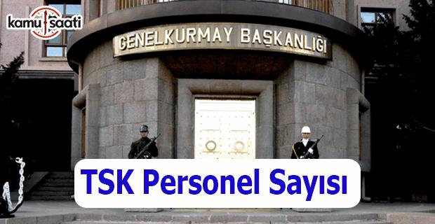Genelkurmay'dan TSK Personel Sayısı