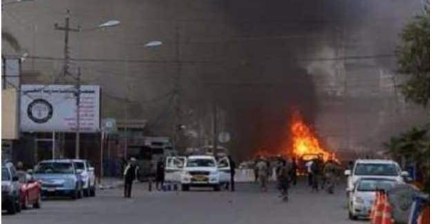 Irak'ta bombalı saldırı: 21 Ölü, 42 Yaralı