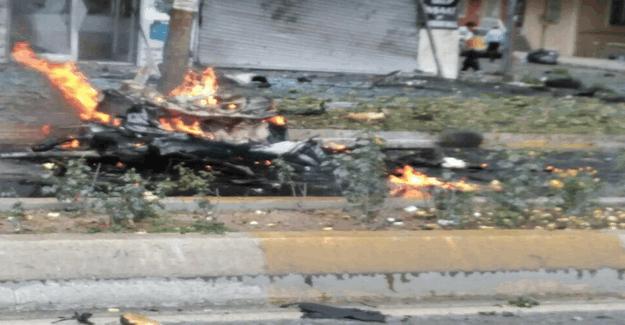 İstanbul Sancaktepe'de askeri aracın geçisi sırasında patlama