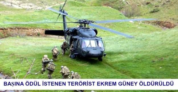 PKK üst düzey sorumlusu Ekrem Güney ve Ahmet Talva öldürüldü!