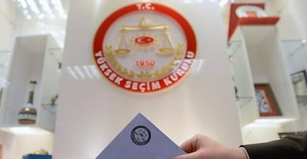 YSK, seçmen bilgilerini 12 partiyle paylaştı