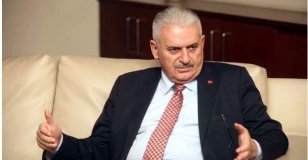 "Başbakan Binali Yıldırım:  ""O tabela bu akşam derhal sökülecek"""