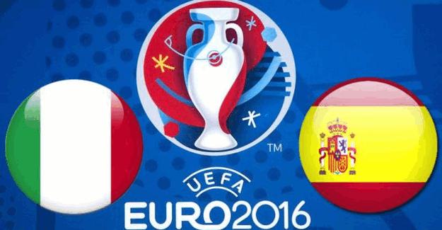 Cüneyt Çakır'ın yöneteceği Euro2016 İtalya İspanya maçı ne zaman saat kaçta?