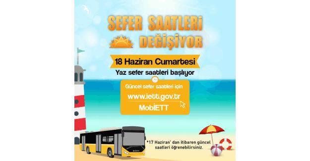İETT sefer saatleri değişiyor - İstanbul İETT saatleri