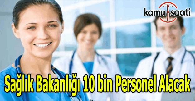 Sağlık Bakanlığı personel alımı ne zaman yapılacak? Kamu hastanelerine 10 bin personel alımı