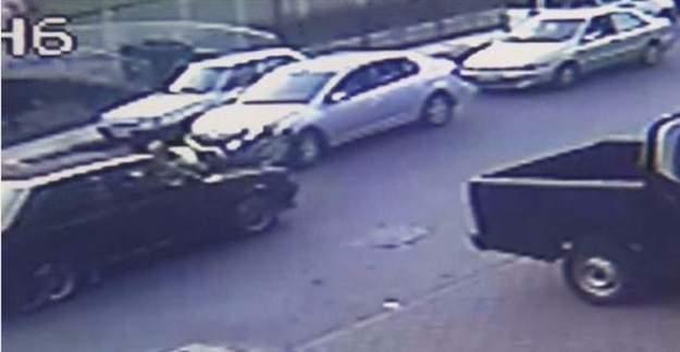 Zonguldak'ta Sinirlenen sürücü Trafik polisini 200 metre sürükledi
