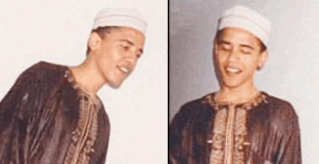 Barack Obama'nın eski görüntüsü şaşırttı!