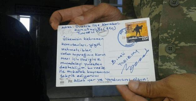Başbakan Binali Yıldırım, askere telgraf gönderdi