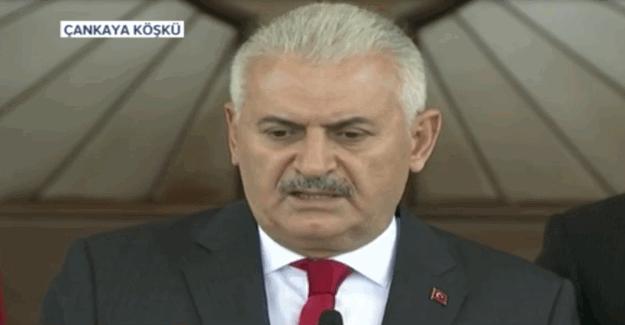 """Başbakan Binali Yıldırım'dan açıklama: """"Darbe girişimi püskürtüldü"""""""