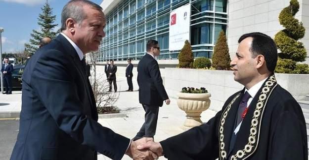 Erdoğan ve AYM Başkanı Arslan bugün görüşecek