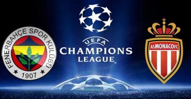 Fenerbahçe Monaco maçı, saat kaçta, hangi kanalda? Fenerbahçe Monaco muhtemel ilk 11'ler