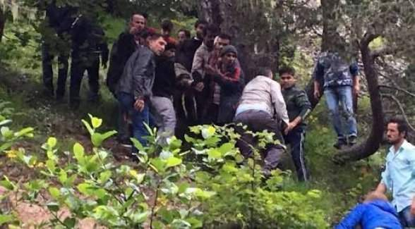 Giresun'da 15 kişiyi taşıyan askeri helikopter düştü