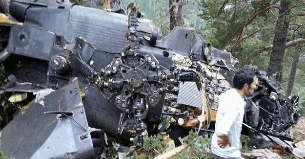 Giresun'da düşen askeri helikopterin düşme nedeni belli oldu