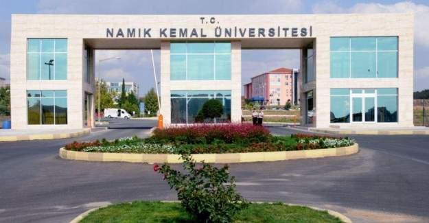 NKÜ'de bir öğretim üyesi tutuklandı