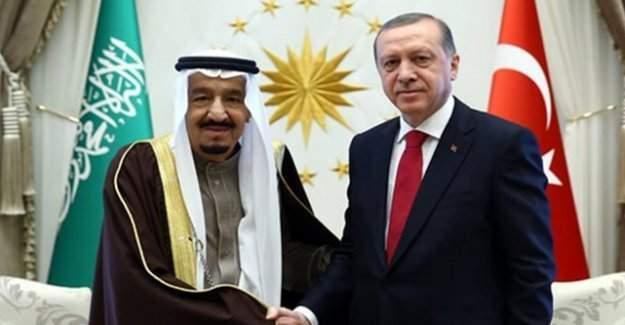 Saldırı sonrası Erdoğan Kral Selman'la görüştü