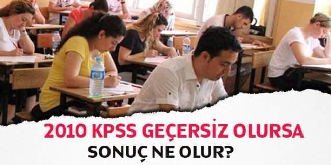 2010 KPSS atamaları iptal olacak mı, 2010 öğretmenlik atamaları ne olacak?