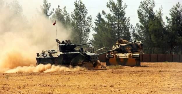 Cerablus'ta 1 asker şehit, 2 asker yaralı