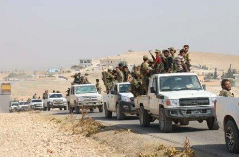 Cerablus'ta 8 köy daha terör örgütü PYD/PKK'dan kurtarıldı.