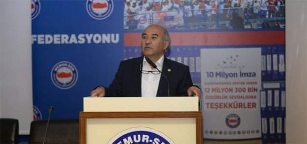 Memur-Sen Ankara İl Başkanı Mustafa Kır'dan basın açıklaması
