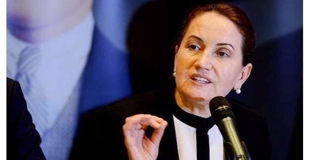 Meral Akşener Melih Gökçek hakkında suç duyurusunda bulundu