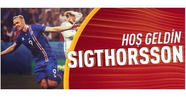Galatasaray Sigthorsson'a ne kadar ödeyecek Galatasaray KAP'a bildirdi