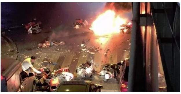 Tayland'da peş peşe 2 patlama-1 ölü, 14 yaralı