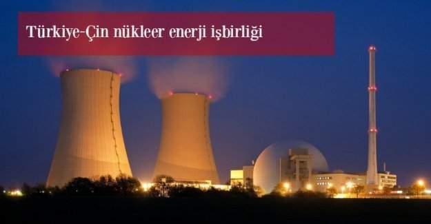Türkiye ve Çin'den nükleer enerjide iş birliği