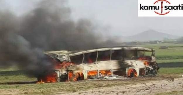 Afganistan'da Feci Kaza: En 36 Ölü 24 Yaralı!