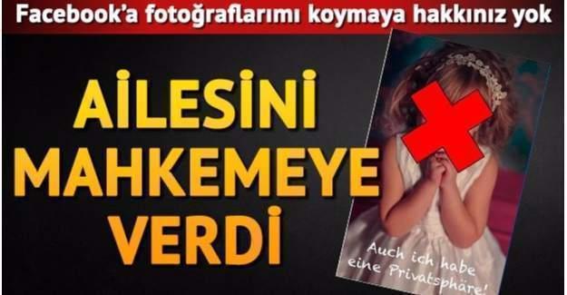 Ailesini Facebook Fotoğrafları Yüzünden Mahkemeye Verdi!