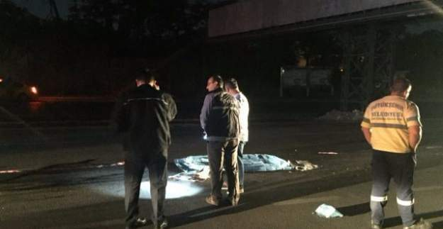Ankara'da yol ortasında kadın cesedi bulundu!