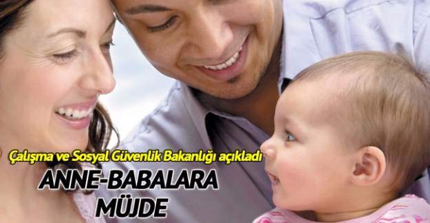Çalışan Anne Babalara Yarım Gün İzin Müjdesi!