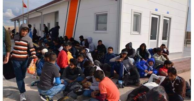 Tansu Çiller'in Yatında 134 kaçak göçmen yakalandı
