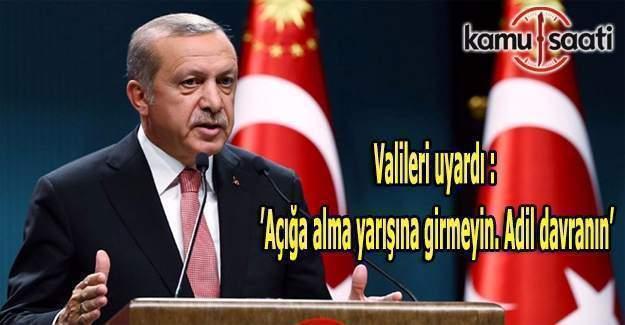 Cumhurbaşkanı kamudaki PKK yandaşları hakkında talimatı verdi