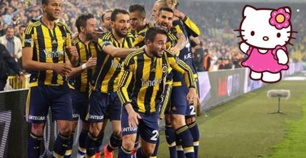 Fenerbahçe Hello Kitty ile Anlaştı!!