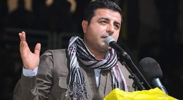 HDP Eş Başkanı Demirtaş 'PKK'yı terör örgütü olarak tanımlamıyoruz'