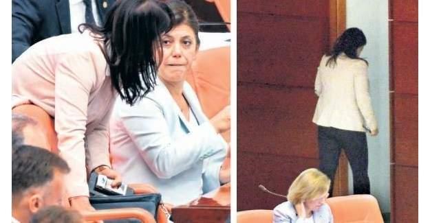 Milletvekillerinin Meclis'teki Sigara Odası!
