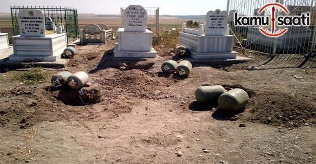 Mehdi Eker'in ailesinin mezarlığına bomba yerleştirmişler