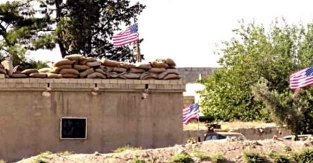 PYD 'karargahı'na asılan ABD bayraklarından 3'ü indirildi