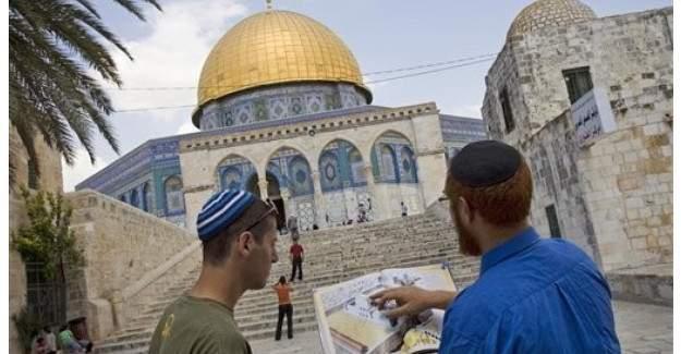 Radikal Yahudilerin Mescid-i Aksa'ya skandal çağrısı!