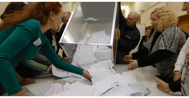 Rusya'da seçimler sonuçlandı!