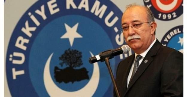 Türkiye Kamu-Sen Genel Başkanı İsmail Koncuk istismar edenlerle ilgili işlem yapılacak