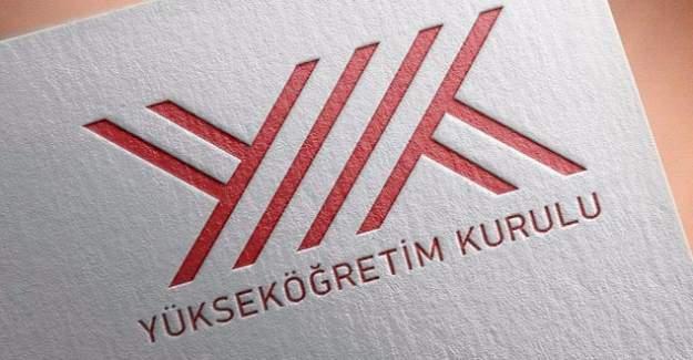 YÖK'ten KHK ile kapatılan vakıf kurumları için açılan program duyuru