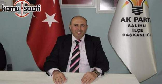 AK Parti Salihli İlçe Başkanı Ahat Aksoy istifa etti