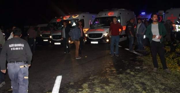 Ankara Gölbaşı'nda korkunç kaza: 24 yaralı