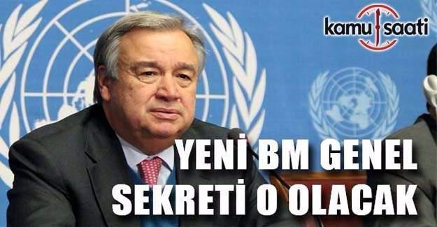 BM Genel Sekreterliği koltuğuna oturacak isim belli oldu