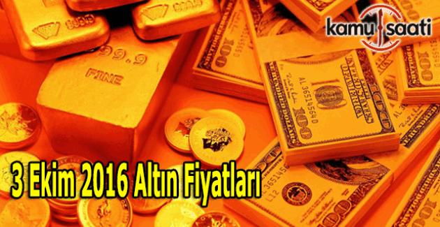 Çeyrek Altın fiyatı ne kadar? 3 Ekim 2016 Kapalı çarşı gram altın fiyatları